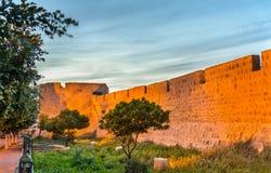 Ancient city walls of Safi, Morocco Royalty Free Stock Photos