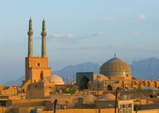 Ancient city of Yazd Royalty Free Stock Photo