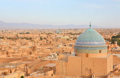 Ancient city of Yazd, Iran stock images