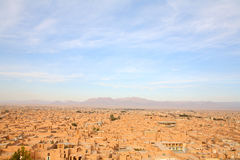 Ancient city of Yazd, Iran Royalty Free Stock Images