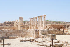 Ancient civilisation. Ancient greek/cypriot civilisation in cyprus Stock Photography