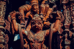 Ancient civilization temple Stock Photography