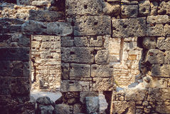 Ancient civilization temple Royalty Free Stock Photography