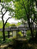 Ancient classical garden in Suzhou, China Stock Photography