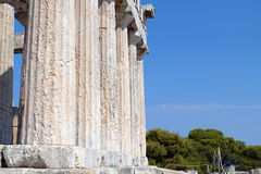 Ancient classical temple in Greece Royalty Free Stock Image