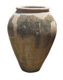 Ancient clay Minoan amphora in Crete, Greece Royalty Free Stock Image