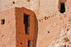 Ancient cliff dwelling Royalty Free Stock Image