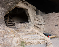 An ancient cliff dwelling in the gila wilderness Stock Image