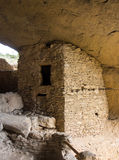 Ancient cliff dwellings in the gila wilderness Stock Photography