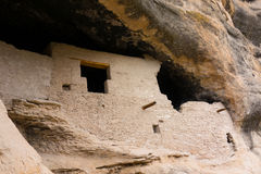 Ancient cliff dwellings in the gila wilderness Royalty Free Stock Photos