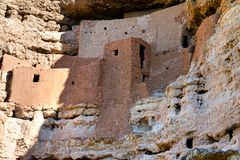 Ancient Cliff Dwellings royalty free stock photo
