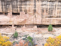 Ancient cliff dwellings Royalty Free Stock Photos