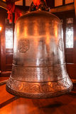 Ancient clock in caotang temple,chengdu,china Royalty Free Stock Photo