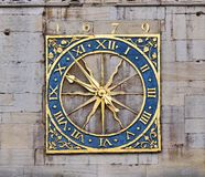 Ancient clock Royalty Free Stock Image