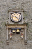Ancient clock in Oxford Royalty Free Stock Photo