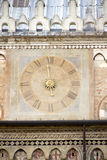Ancient clock in Padua Royalty Free Stock Photography