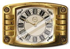 Ancient clock Royalty Free Stock Photos