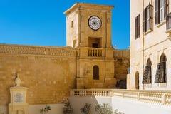 Ancient clock tower of Citadel Stock Photos