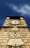 Ancient clock tower Stock Image