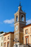 Ancient Clock Tower (Torre dell'Orologio) in Rimini, Italy Royalty Free Stock Photo