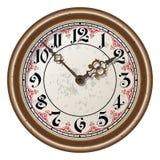 Ancient clock vector Royalty Free Stock Photos