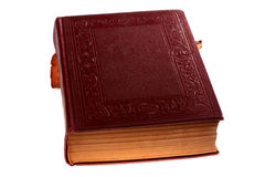 Ancient closed book Royalty Free Stock Image