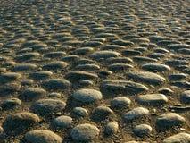 Ancient cobblestone pavement Stock Photography