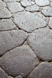 Ancient cobblestone road Royalty Free Stock Photos