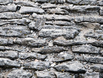 Ancient cobblestoned pavement background Royalty Free Stock Image