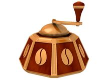 Ancient coffee grinder Stock Photography