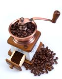 Ancient coffee grinder Stock Photos