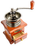 Ancient coffee grinder Stock Photo