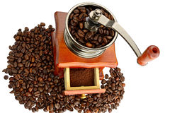 Ancient coffee grinder Royalty Free Stock Photography