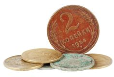 Ancient Coins Stock Photos