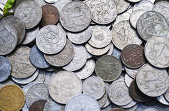 Ancient coins Royalty Free Stock Photos