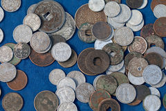Ancient coins Stock Images