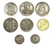 Ancient coins Royalty Free Stock Photo