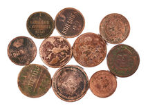 Ancient coins Stock Image