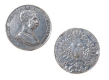 Ancient coins to Austrian empire Royalty Free Stock Images