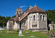 Ancient colonial church. Jamaica Royalty Free Stock Photo