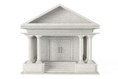 Ancient Colonnade Building Royalty Free Stock Photography