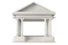 Ancient Colonnade Building Stock Photo