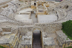 Ancient coloseum in Tarragona royalty free stock photography