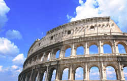 Ancient Colosseum, Rome, Italy Royalty Free Stock Photos