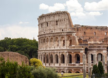 Ancient Colosseum in Rome, Italy stock photos