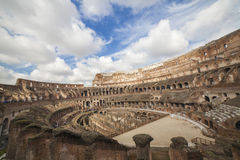 Ancient Colosseum Rome. Italy Series Royalty Free Stock Photo