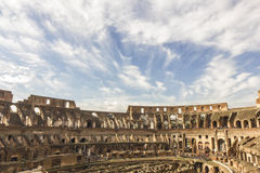 Ancient Colosseum Rome Royalty Free Stock Photography