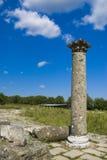 Ancient column stock photography