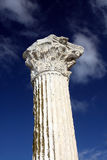 Ancient column royalty free stock photography