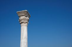 Ancient column. In the Tauric Chersonesos Royalty Free Stock Image